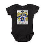 Ortiz Family Crest Baby Bodysuit