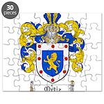 Ortiz Family Crest Puzzle
