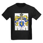 Ortiz Family Crest Kids Dark T-Shirt