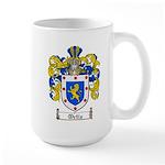 Ortiz Family Crest Large Mug
