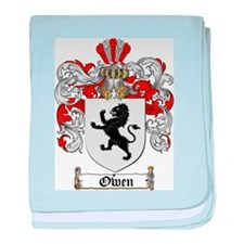 Owen Family Crest baby blanket