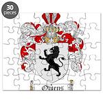Owens Family Crest Puzzle