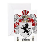 Owens Family Crest Greeting Card
