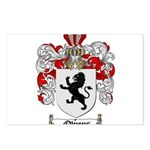 Owens Family Crest Postcards (Package of 8)