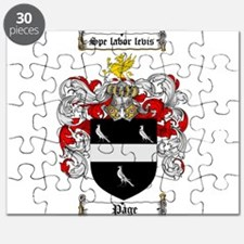 Page Family Crest Puzzle