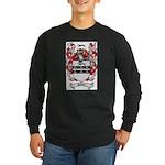Palmer Family Crest Long Sleeve Dark T-Shirt