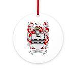 Palmer Family Crest Ornament (Round)