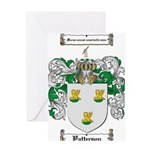 Patterson Family Crest Greeting Card