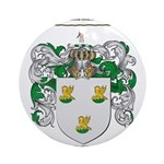 Patterson Family Crest Ornament (Round)