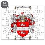 Payne Family Crest Puzzle