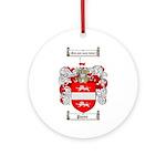 Payne Family Crest Ornament (Round)