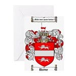 Payne Family Crest Greeting Cards (Pk of 10)