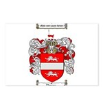 Payne Family Crest Postcards (Package of 8)