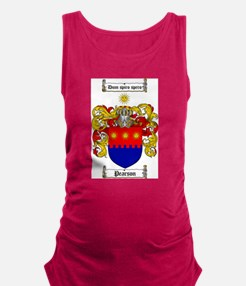 Pearson Family Crest Maternity Tank Top