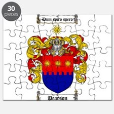 Pearson Family Crest Puzzle