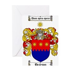 Pearson Family Crest Greeting Card