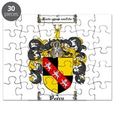 Perry Family Crest Puzzle