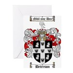 Peterson Family Crest Greeting Cards (Pk of 20)