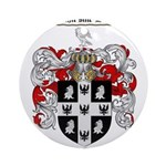 Peterson Family Crest Ornament (Round)
