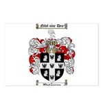Peterson Family Crest Postcards (Package of 8)