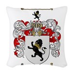 Phillips Family Crest Woven Throw Pillow
