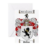 Phillips Family Crest Greeting Cards (Pk of 20)