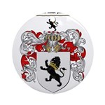Phillips Family Crest Ornament (Round)