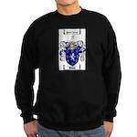 Poole Family Crest Sweatshirt (dark)