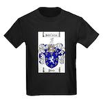 Poole Family Crest Kids Dark T-Shirt