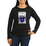 Poole Family Crest Women's Long Sleeve Dark T-Shir