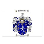 Poole Family Crest Postcards (Package of 8)