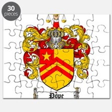 Pope Family Crest Puzzle