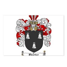Porter Family Crest Postcards (Package of 8)