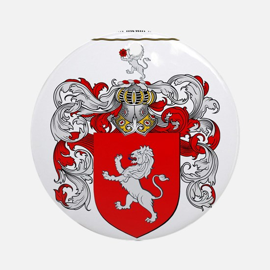 Price Coat of Arms Ornament (Round)