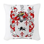 Pugh Coat of Arms Woven Throw Pillow