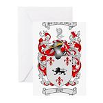 Pugh Coat of Arms Greeting Cards (Pk of 10)