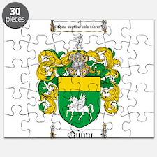 Quinn Family Crest Puzzle