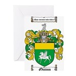 Quinn Family Crest Greeting Cards (Pk of 20)