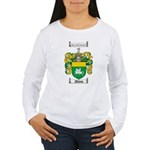Quinn Family Crest Women's Long Sleeve T-Shirt