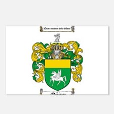 Quinn Family Crest Postcards (Package of 8)