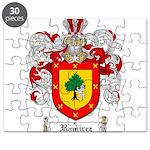 Ramirez Family Crest Puzzle