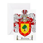 Ramirez Family Crest Greeting Card