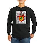 Ramirez Family Crest Long Sleeve Dark T-Shirt