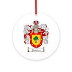 Ramirez Family Crest Ornament (Round)