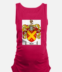 Reed Family Crest Maternity Tank Top