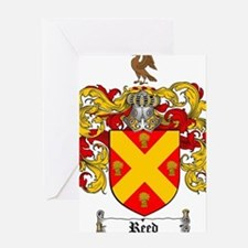 Reed Family Crest Greeting Card