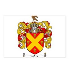 Reed Family Crest Postcards (Package of 8)