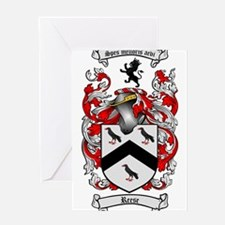 Reese Family Crest Greeting Card
