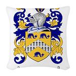 Regan Family Crest Woven Throw Pillow