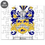 Regan Family Crest Puzzle
